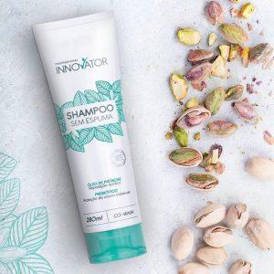 Беспенный шампунь для окрашенных и вьющихся волос Innovator Shampoo Sem Espuma 280ml