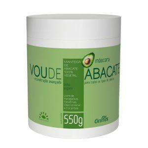 Маска для интенсивного восстановления поврежденных волос Griffus Mascara Vou de Abacate 550 g