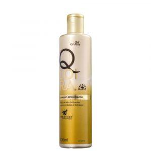 Шампунь для светлых волос БЛОНД Griffus Shampoo Restaurador com Filtro Solar Qloira 300ml