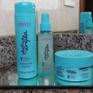 Шампунь для восстановления волос Shampoo Revitalizante Cadiveu Professional Plastica De Argila 250 ml