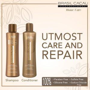 Шампунь для выпрямления волос Cadiveu Brasil Cacau Anti Frizz Shampoo 300 ml