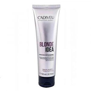 Тонирующая маска Cadiveu Blonde Idea Balance Mask 150ml