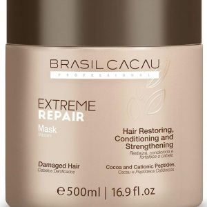 Маска для экстремального восстановления Cadiveu Brasil Cacau Extreme Repair Hair Mask 500 ml
