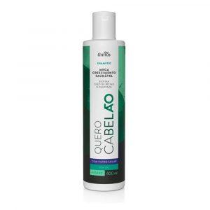 Шампунь для стимуляции роста волос Griffus Shampoo Quero Cabelao 400 ml