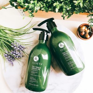 Шампунь для жирных волос Luseta Tea Tree & Argan Oil Shampoo 500 ml