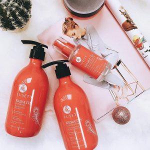 Шампунь с кератином для укрепления волос Luseta Keratin Smooth Shampoo 500 ml
